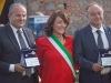 L'orafo Michele Affidato Marianna Caligiuri sindaco di Caccuri e il procuratore Nicola Gratteri