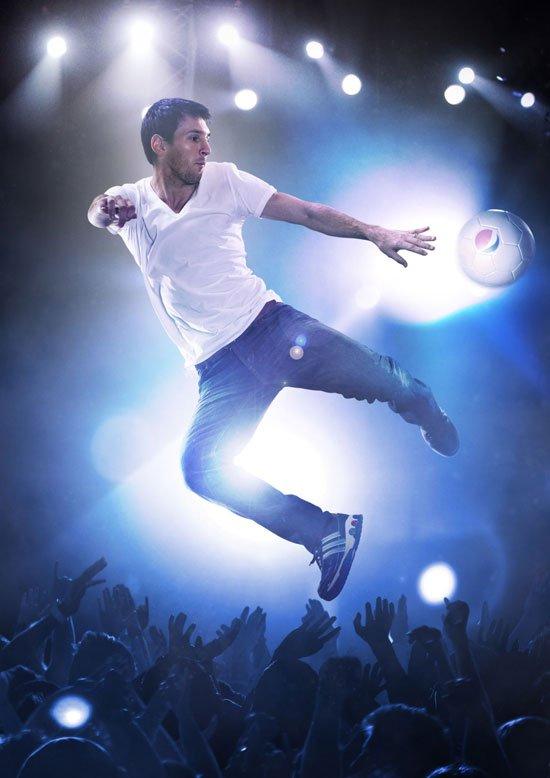 Le star del calcio per la nuova campagna Pepsi 22 Le star del calcio per la nuova campagna Pepsi