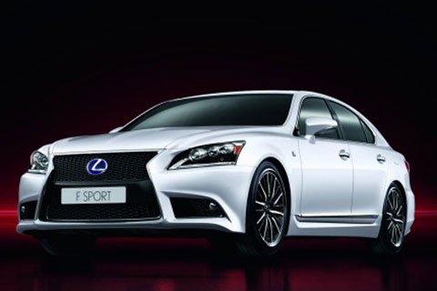 Nuova LS F Sport - Lexus presenta la nuova LS
