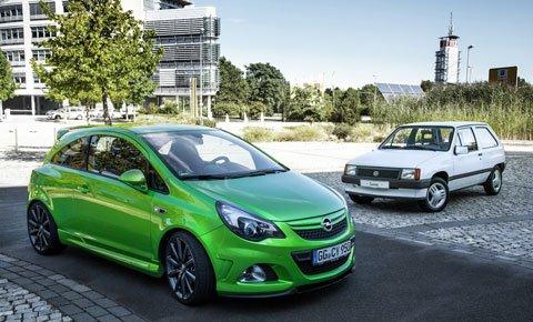 Opel Corsa festeggia il 30° anniversario 78 Opel Corsa festeggia il 30° anniversario