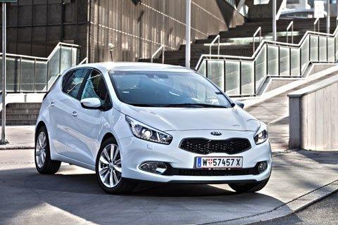 Kia Ceefront 08 - La nuova Kia cee'd ottiene le 5 stelle EuroNCAP