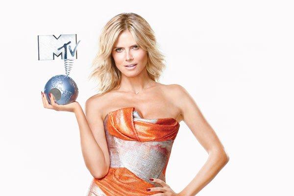 heidi klum - HEIDI KLUM PRESENTERA' GLI MTV EMA 2012 CHE SI TERRANNO L'11 NOVEMBRE A FRANCOFORTE