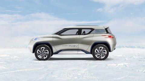 Zero emissioni, zero limiti - Con il concept SUV Nissan TeRRA, l'off-road diventa sostenibile 46 Zero emissioni, zero limiti - Con il concept SUV Nissan TeRRA, l'off-road diventa sostenibile