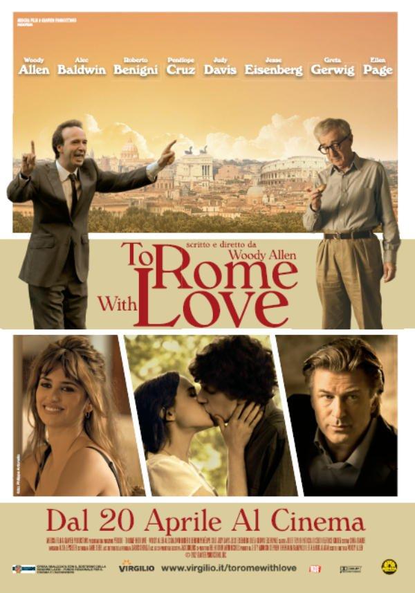 """""""TO ROME WITH LOVE"""": PER WOODY ALLEN IL SECONDO INCASSO MONDIALE DI SEMPRE 74 """"TO ROME WITH LOVE"""": PER WOODY ALLEN IL SECONDO INCASSO MONDIALE DI SEMPRE"""
