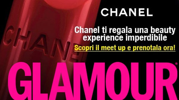 Glamour e la Beauty Experience Rouge Allure di Chanel  50 Glamour e la Beauty Experience Rouge Allure di Chanel