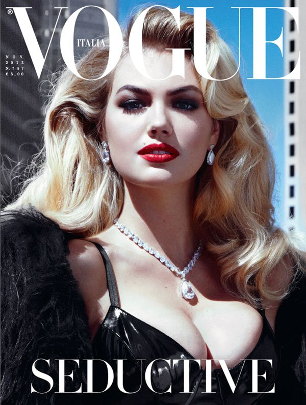 Kate Upton in copertina su Vogue Italia 40 Kate Upton in copertina su Vogue Italia