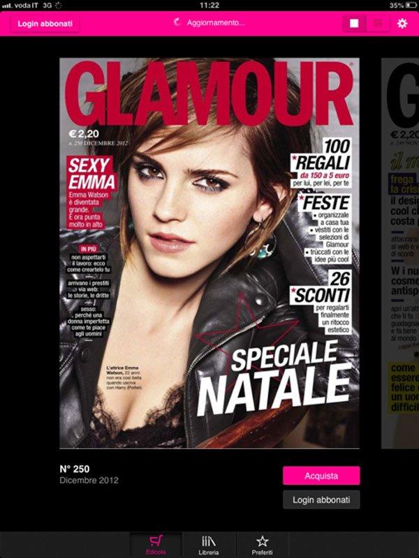 Glamour: la digital replica eletta da Apple tra le migliori app 2012 18 Glamour: la digital replica eletta da Apple tra le migliori app 2012
