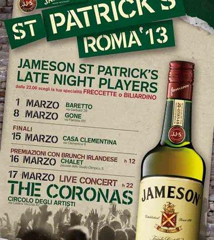 Freccette, biliardino e rugby: il cocktail romano di Jameson per St.Patrick   44 Freccette, biliardino e rugby: il cocktail romano di Jameson per St.Patrick