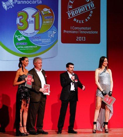 Tutto Pannocarta eletto Prodotto dell'Anno 2013 28 Tutto Pannocarta eletto Prodotto dell'Anno 2013