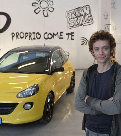 valentino rossi adam - Valentino Rossi è il testimonial di Opel ADAM
