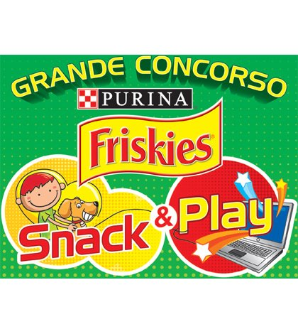 logo SnackPlay - Friskies lancia Snack&Play