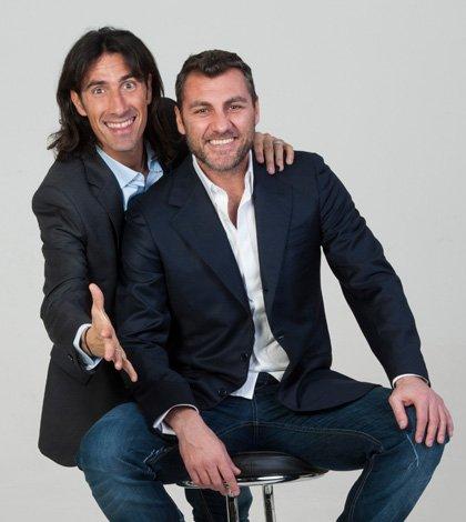 Bobo Vieri e Marco Delvecchio sono I RE DEL BALLO 9 Bobo Vieri e Marco Delvecchio sono I RE DEL BALLO