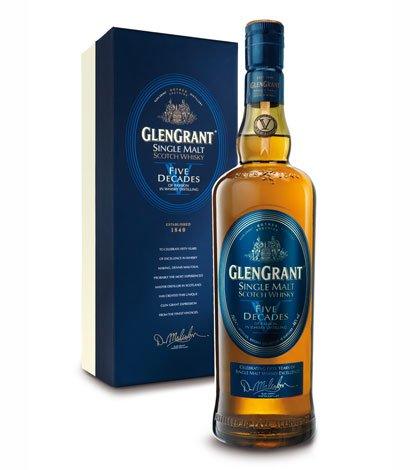 Il mastro distillatore Glen Grant celebra il 50° anniversario