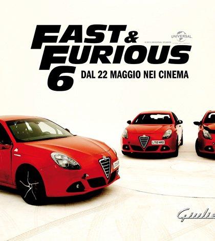 130506 AR giulietta FF 01 - Alfa Romeo Giulietta è la nuova star di 'Fast&Furious 6'