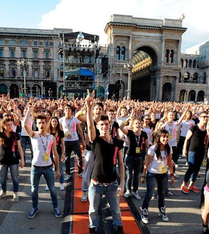 Flash mob da guinnes per Just Dance ed Emma 23 Flash mob da guinnes per Just Dance ed Emma