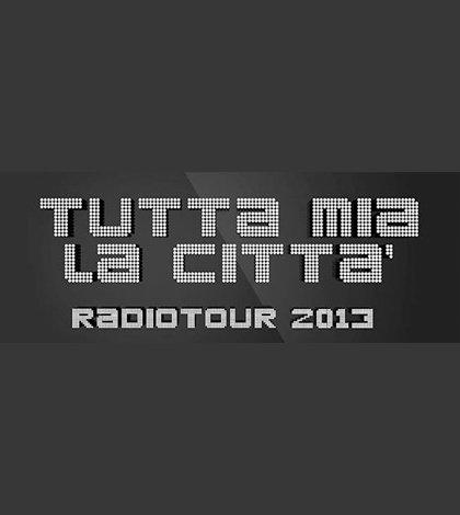 """""""Tutta mia la città"""", da giugno il nuovo radiotour di Radionorba 6 """"Tutta mia la città"""", da giugno il nuovo radiotour di Radionorba"""