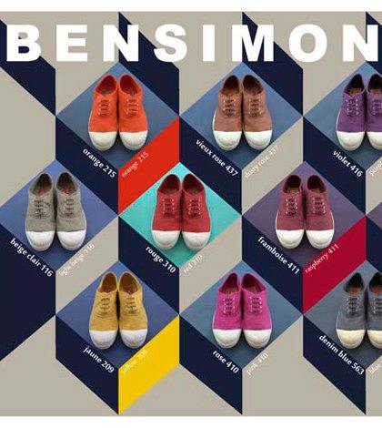 Un mosaico autunnale per le tennis Bensimon 11 Un mosaico autunnale per le tennis Bensimon
