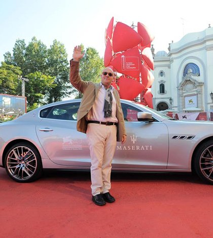 Maserati grande protagonista del Festival di Venezia 42 Maserati grande protagonista del Festival di Venezia