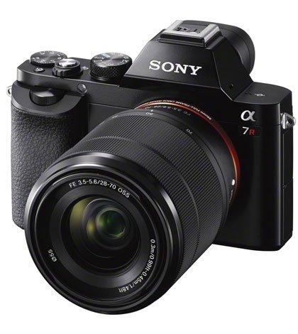 A7R wSEL2870 - Sony lancia α7R: la fotocamera a obiettivo intercambiabile più piccola e leggera al mondo