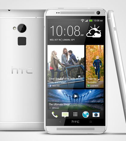 HTC One max Glacial Silver 3V - HTC One diventa extra-large con il nuovo HTC One max