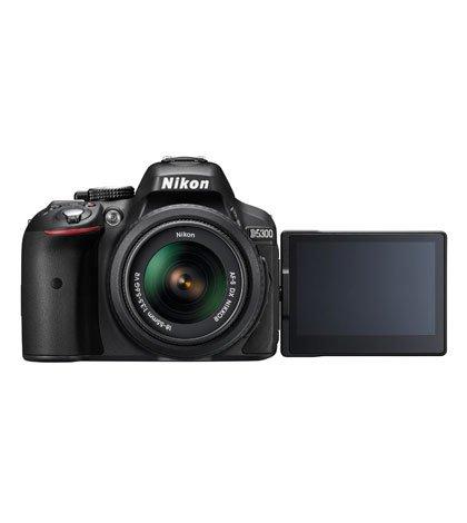 Nikon D5300 BK 18 55 LCD rid - Nikon: ecco la nuova D5300, con con Wi-Fi e GPS incorporati