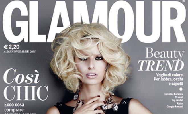 glam cover - Ottimi risultati per l'uscita del nuovo Glamour