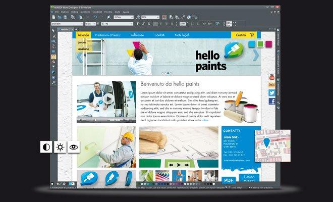 Nuova versione di Magix Web Designer 16 Nuova versione di Magix Web Designer