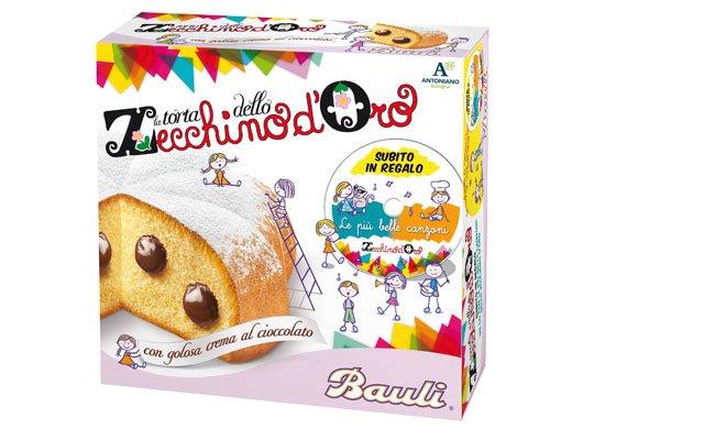 torta Zecchino - Da Bauli la torta natalizia dedicata ai bambini
