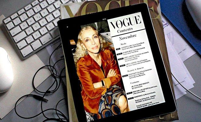 vogue int - Vogue Italia: nasce l'interactive replica