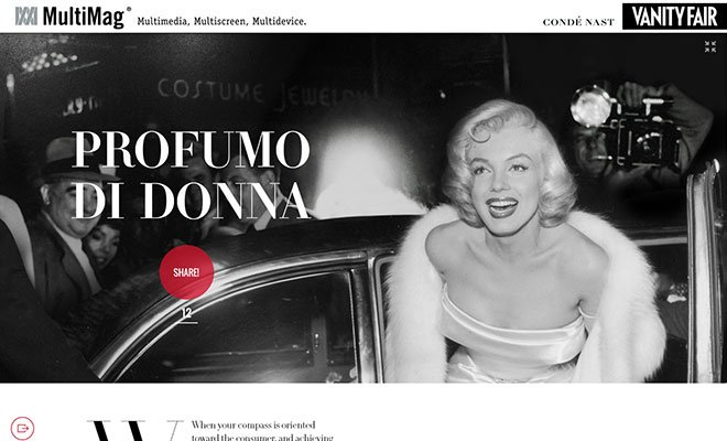 Marylin sponsored - Condé Nast e Manzoni presentano MultiMag