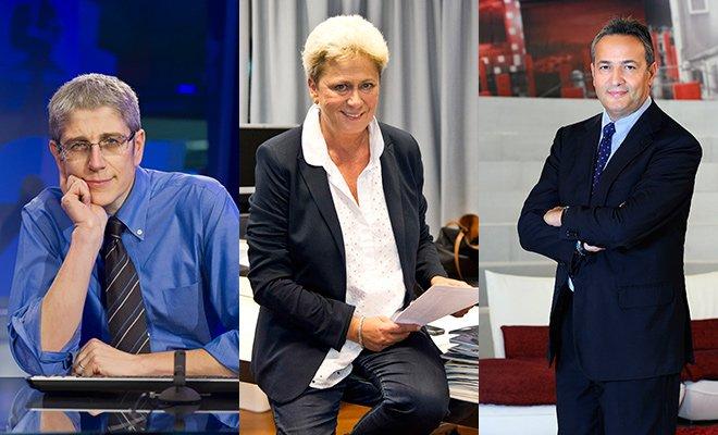 Mediaset, i nuovi direttori di Tg4, Studio Aperto e Videonews 27 Mediaset, i nuovi direttori di Tg4, Studio Aperto e Videonews