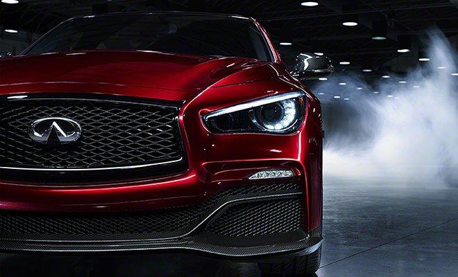 Infiniti Q50 Eau Rouge hires - Infiniti Eau Rouge – pronta a 'ruggire' al Salone dell'Auto di Ginevra