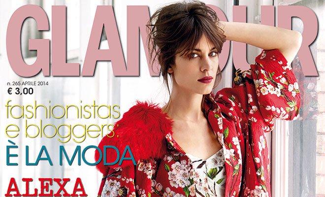 Glamour Cover Aprile  - Il nuovo Glamour inizia il 2014 con un aumento di fatturato adv