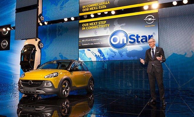 Opel at geneva 290201 - Opel con connettività OnStar: una soluzione a 360° per i servizi a bordo