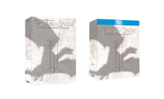 trono di spade - Il Trono di Spade - La Terza Stagione Completa - Dal 9 aprile in Blu-ray e DVD
