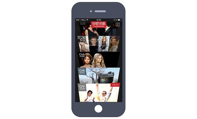 Vanity Fair Confidential: il primo prodotto 100% digital e mobile 64 Vanity Fair Confidential: il primo prodotto 100% digital e mobile
