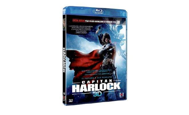 capitan harlock - Capitan Harlock - Dal 16 aprile in DVD, Blu-ray e Blu-ray 3D