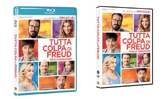 colpa di freud - Tutta Colpa di Freud - Dal 15 maggio in Blu-ray e DVD
