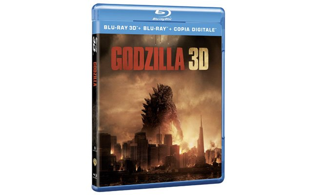 GODZILLA 3DBD 3D - Godzilla - Dal 18 settembre in DVD, Blu-ray e Blu-ray 3D