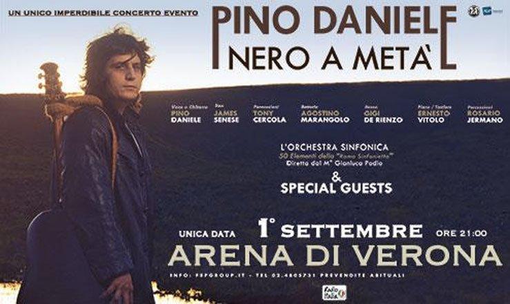 Pino Daniele: a grande richiesta 5 nuove date a dicembre 16 Pino Daniele: a grande richiesta 5 nuove date a dicembre