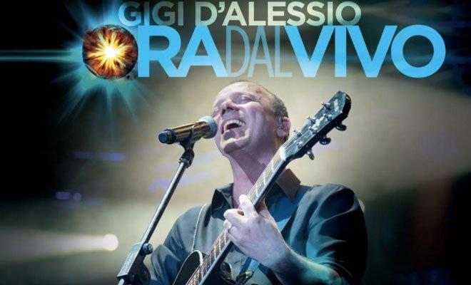 "Gigi D'Alessio: esce oggi ""Ora dal Vivo"" 46 Gigi D'Alessio: esce oggi ""Ora dal Vivo"""