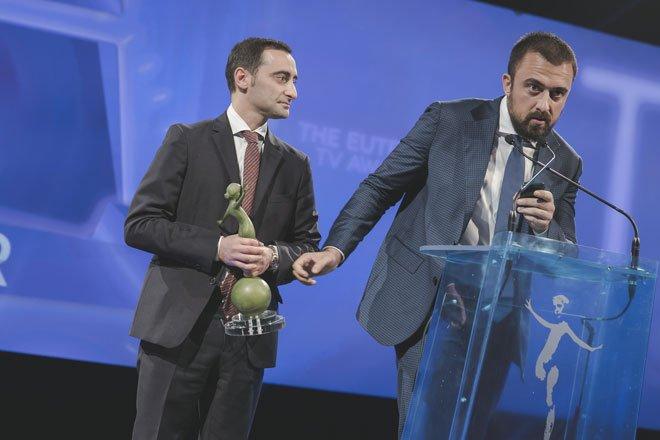 Dmax miglior canale di Lifestyle agli Eutelsat Tv Awards 2014 54 Dmax miglior canale di Lifestyle agli Eutelsat Tv Awards 2014