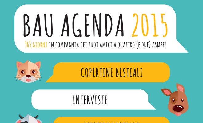 E' nata BAUAGENDA 2015, un'agenda dedicata agli animal lovers 50 E' nata BAUAGENDA 2015, un'agenda dedicata agli animal lovers