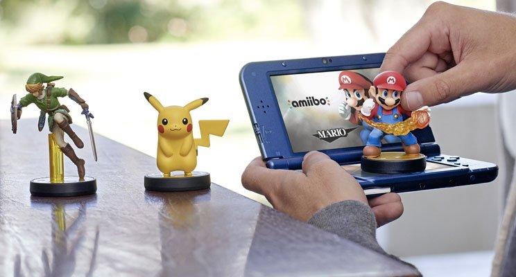 N3DS amiibo 01 - New Nintendo 3ds e New Nintendo 3ds xl in Europa il 13 febbraio