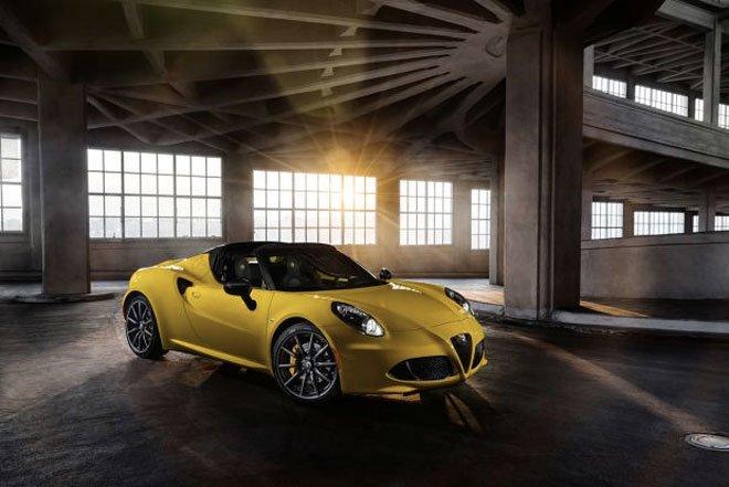 alfa romeo 4c spider - Anteprima mondiale: Alfa Romeo 4C Spider