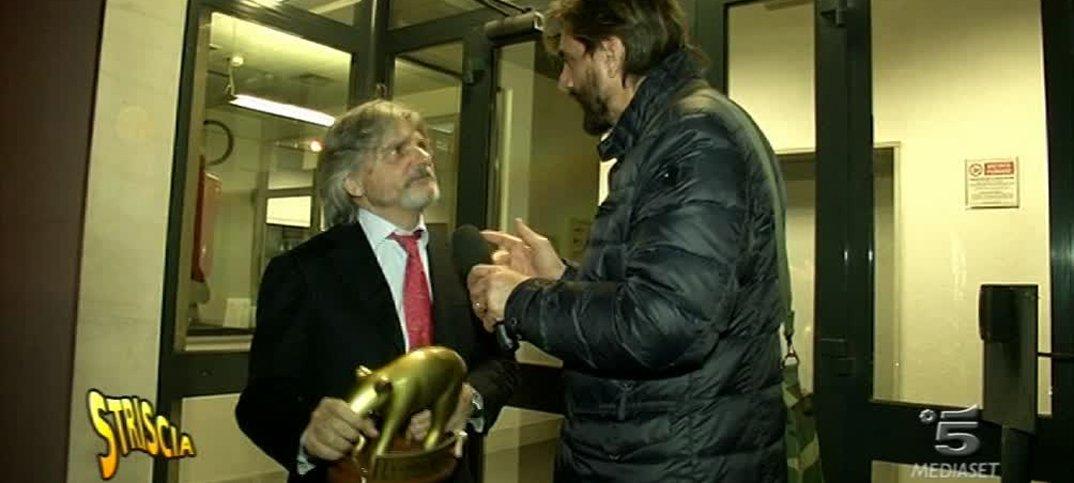 Tapiro d'oro per Ferrero, presidente Sampdoria 14 Tapiro d'oro per Ferrero, presidente Sampdoria