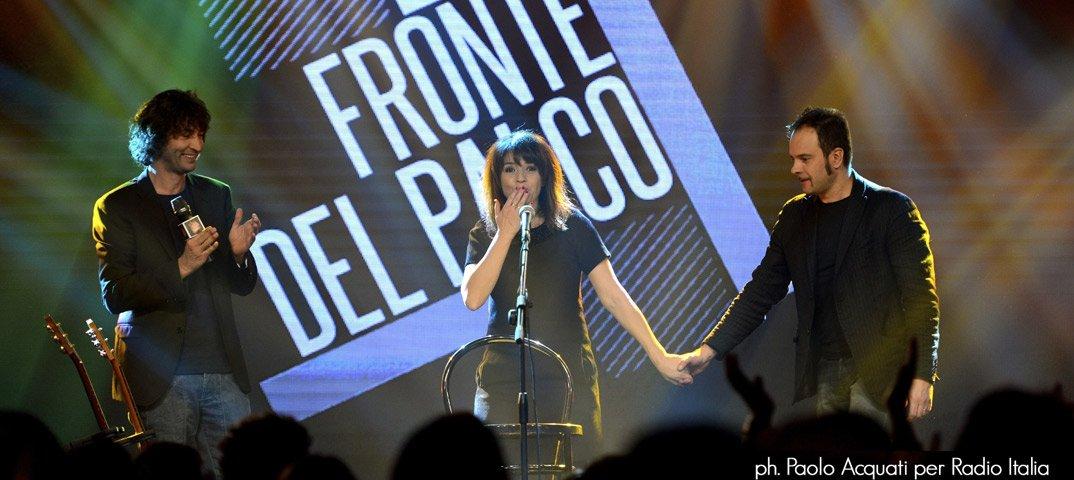 """Italia 1: Carmen Consoli ospite a """"Fronte del palco"""" 31 Italia 1: Carmen Consoli ospite a """"Fronte del palco"""""""