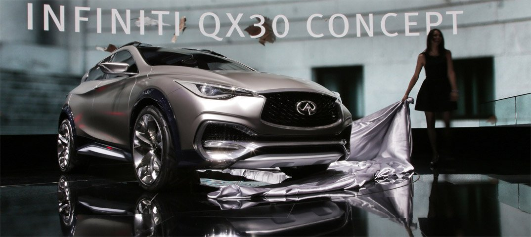Al Salone di Ginevra Infiniti presenta la nuova QX30 Concept 12 Al Salone di Ginevra Infiniti presenta la nuova QX30 Concept