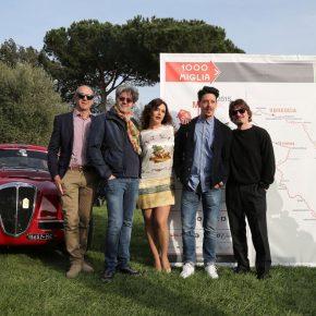 Roberto Pagliuca Claudio Uberti Francesca Rettondini Maurizio Francone e Rosario Petix 290x290 - Aspettando la Mille Miglia: Trofeo Sheraton