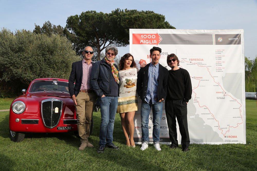 Roberto Pagliuca Claudio Uberti Francesca Rettondini Maurizio Francone e Rosario Petix - Aspettando la Mille Miglia: Trofeo Sheraton